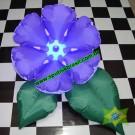 Arranjo Flor & Folhas  (cor sólida)