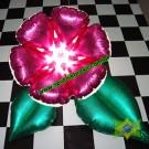 Arranjo Flor & Folhas (Metalizado)