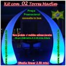 Kit c/ 02 Torres Marfim (L50)
